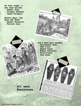 The Boston Massacre: Case File