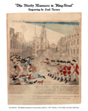 """The Bloody Massacre"" Primary Source Analysis [The Boston Massacre]"