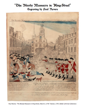 The Boston Massacre Source Analysis & Constructed Response