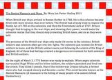Boston Massacre With Timeline MJ