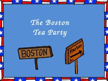 The Boston Tea Party