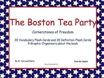 The Boston Tea Party  ~ Cornerstones of Freedom Book