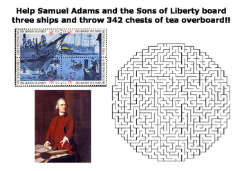 The Boston Tea Party Maze Puzzle