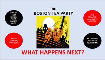 The Boston Tea Party:  What Happens Next?