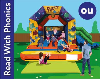 The Bouncing Castle: Learn The Phonic Sound ou (loud) Lear