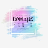 The Boutique Fonts Collection: The Growing Bundle