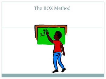 The Box Method for Multiplication