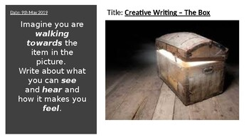 The Box: Sensory Creative Writing (without being obvious)