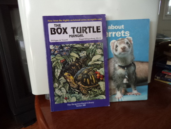 The Box Turtle, all about ferret ISBN#  1-882770-29-3 (set of 2)