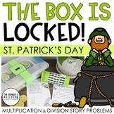 The Box is Locked! St. Patrick's Day Math Challenge {Multi