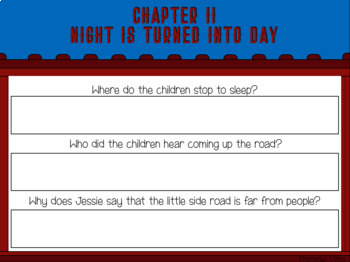 The Boxcar Children #1 Novel Study (Great for Google Classroom!)