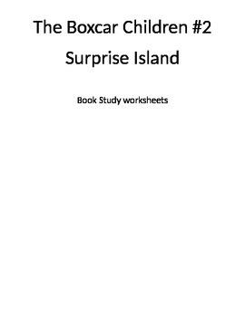 The Boxcar Children #2: Surprise Island book study