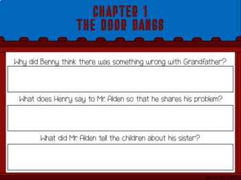 The Boxcar Children #4 Mystery Ranch Novel Study (Google Classroom!)