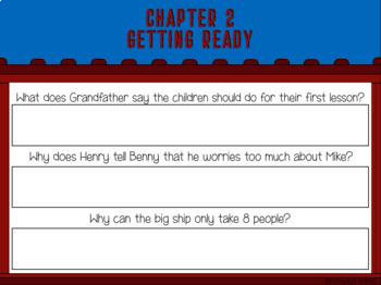 The Boxcar Children #6 Blue Bay Mystery Novel Study (Google Classroom!)
