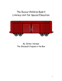 The Boxcar Children Book 1 Literacy Unit for Special Education