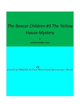 The Boxcar Children Book #3 Unit