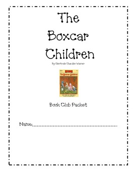 The Boxcar Children Book Club Comprehension Pack **Freebie** by ...