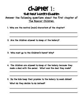 Book Study The Boxcar Children