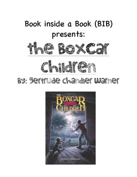 The Boxcar Children Book Inside a Book (BIB)