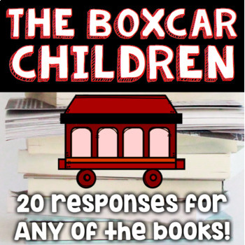 The Boxcar Children Bundle - Book #1 and Open-Ended Responses