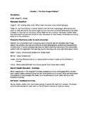 The Boxcar Children Book 1 Chapter 1 Teacher Lesson Plan
