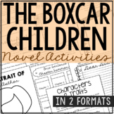 THE BOXCAR CHILDREN Novel Study Unit Activities | Creative Book Report