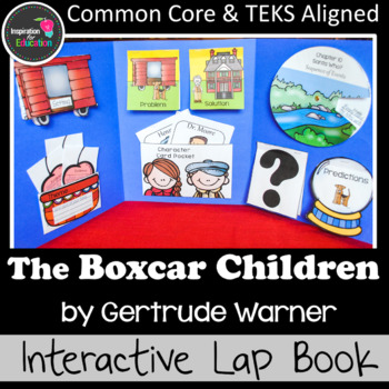 The Boxcar Children Interactive Novel Study (Notebook or Lap Book)