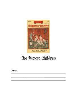 The Boxcar Children Literature Response Log Gertrude Chandler Warner