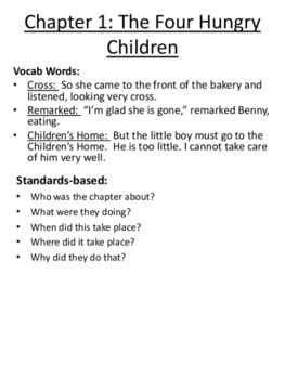 The Boxcar Children Unit for Interactive Notebooks - Common Core Based!!