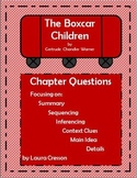 The Boxcar Children Unit with Chapter Comprehension Questions