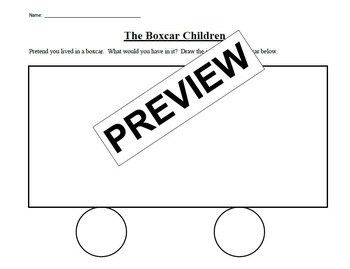 The Boxcar Children end of book activity
