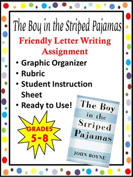 The Boy In The Striped Pajamas- Friendly Letter Writing As