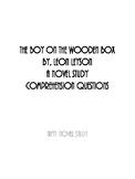 The Boy On The Wooden Box Novel Study