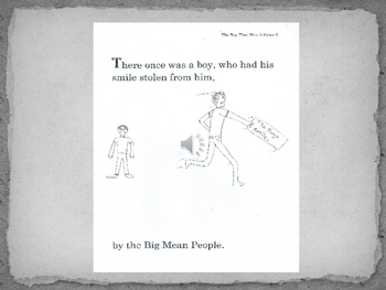 The Boy That Was a Stone. PPT narrated slide show, with printable PDF for FREE!