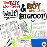 The Boy Who Cried Wolf Bigfoot: Compare Contrast Read-Alou