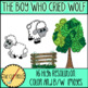The Boy Who Cried Wolf (Aesop's Fable) Clip Art