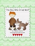The Boy Who Cried Wolf {Felt Story Set}