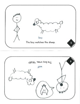 The Boy Who Cried Wolf (Kindergarten Level)