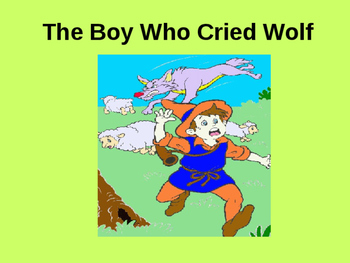The Boy Who Cried Wolf PowerPoint Story