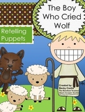 The Boy Who Cried Wolf Retelling/Sequencing Puppets