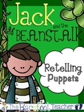 Jack and the Beanstalk Retelling/Sequencing Puppets (10 total)