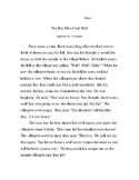 The Boy Who Cried Wolf - Theme and Related Details