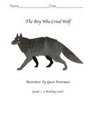 The Boy Who Cried Wolf Workbook Rewritten from Grade 1 to 3