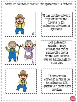 The Boy Who Cried Wolf in Spanish