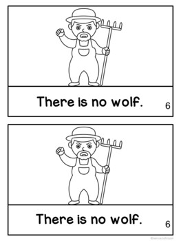 """The Boy Who Cries, """"Wolf!"""" Reader ~Simplified for Young Readers"""