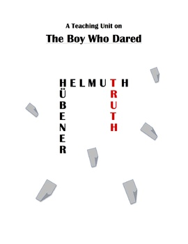 """""""The Boy Who Dared"""" Teaching Unit: Activities, Q & A, Vocabulary, Writing Ideas"""