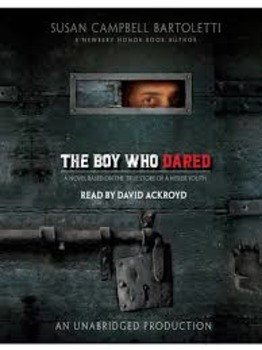 The Boy Who Dared Vocab List
