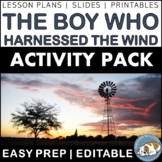 The Boy Who Harnessed the Wind: Activity Pack