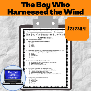 The Boy Who Harnessed Wind Worksheets & Teaching Resources   TpT