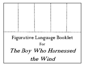 The Boy Who Harnessed the Wind Choice Board BUNDLE 11 Activity Pages Rubric